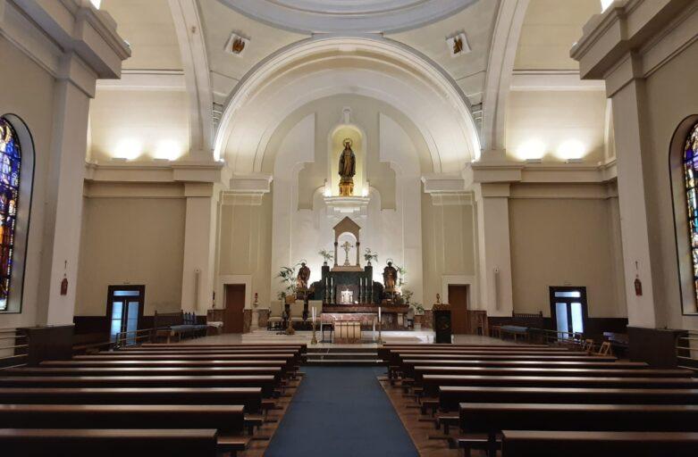 Reapertura de la parroquia